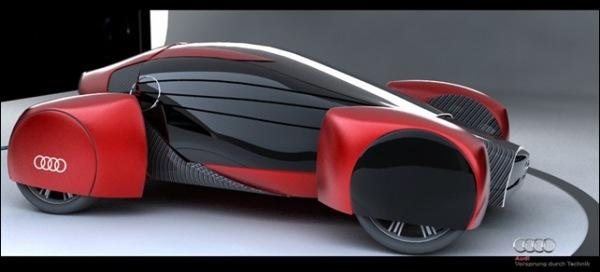 Экологичный суперкар Audi A0 QS