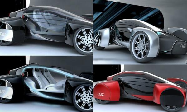 Концепт Audi A0 QS