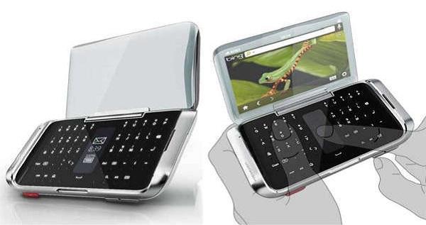 Cellphone от Huang Wei - концепт телефона будущего с двумя экранами