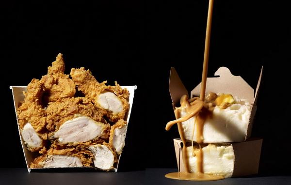 Cut Food: курица с картошкой