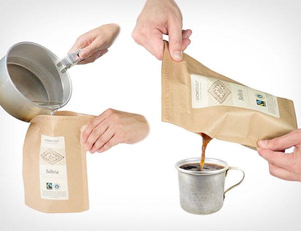 Оригинальный мягкий термос для кофе от Grower's