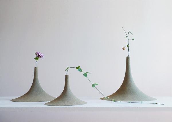Песочная ваза от дизайнером Yukihiro Kaneuchi