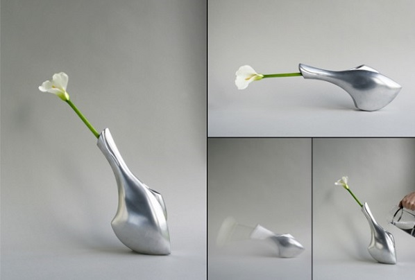 Оловянная ваза