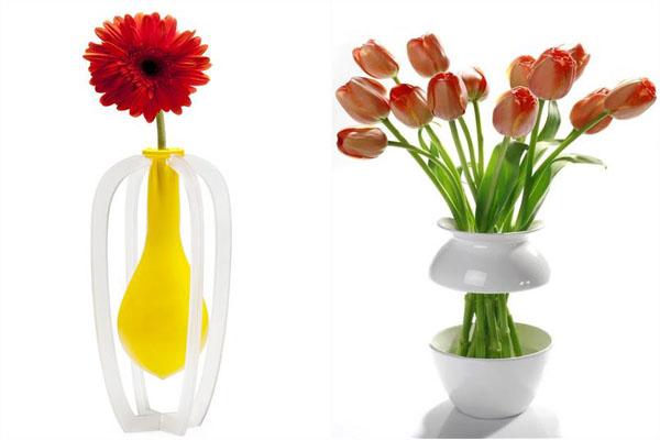 ТОП-10 оригинальных ваз для цветов ‒ красивых и необычных