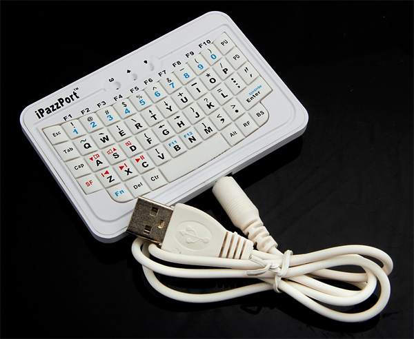 Мини-клавиатура iPazzPort для телефонов и смартфонов