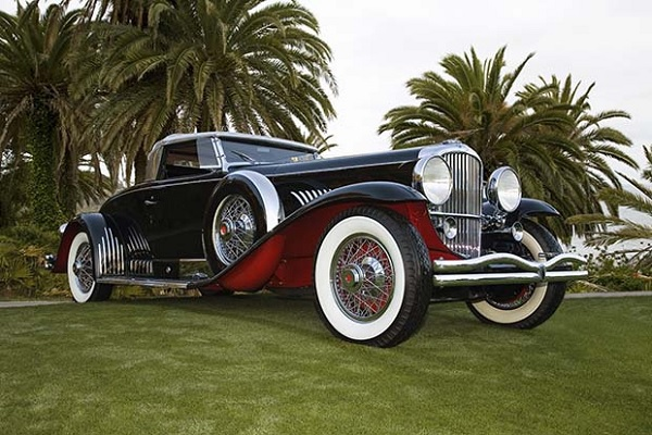 Duesenberg Model J Whittell Coupe - культовая модель XX века и один из самых дорогих автомобилей XXI