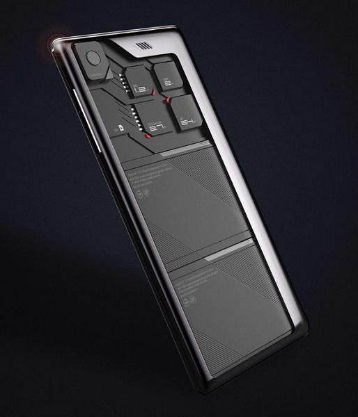 Eco-Mobius от ZTE Corporation - концепт самого экологичного телефона будущего