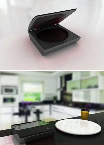 Piece of plate – 3D принтер, печатающий тарелки