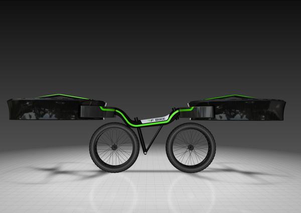Концепт Flying Bike