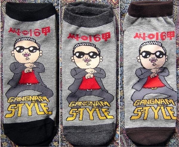 Носки Gagnam Style