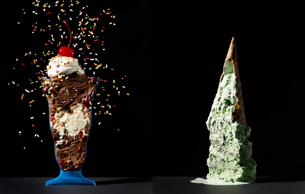 мороженое в разрезе