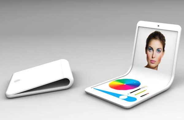 iFlex Smartphone - концепт самого гибкого телефона будущего от Christian de Poorter