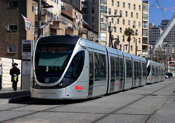Пуленепробиваемый трамвай в Иерусалиме, Израиль