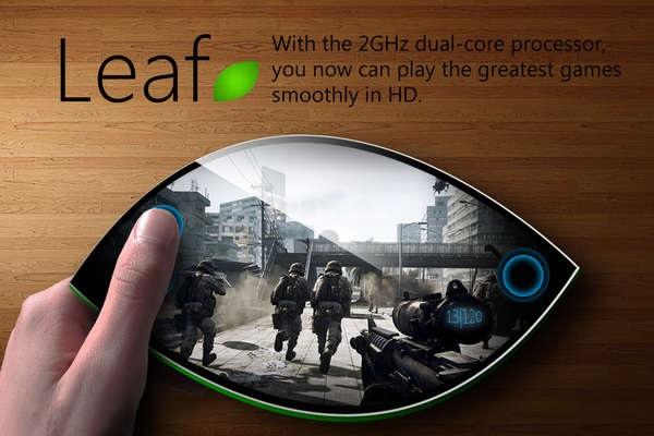 Leaf Smartphone Concept - концепт телефона будущего от Robrecht Vanhauwere