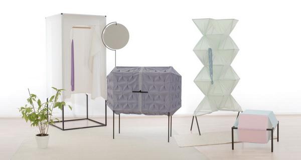 London: коллекция мебели из текстиля