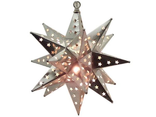 Moravian starlight lamp – серия ламп, создающих иллюзию звездного неба, от мексиканских мастеров