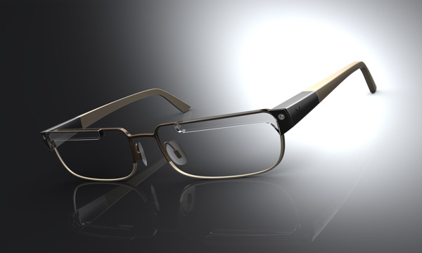 Концепт очков Nexus Glasses для Nexus TV