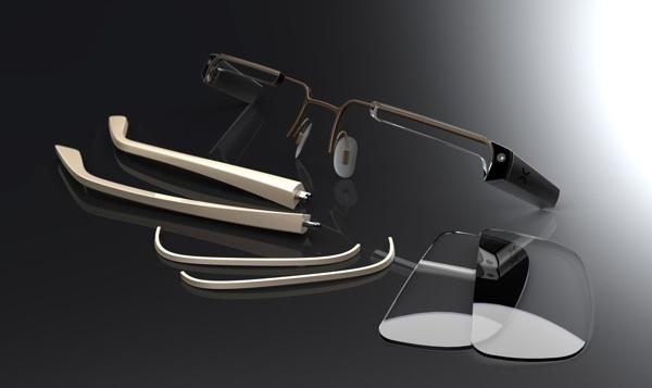 Устройство очков Nexus Glasses
