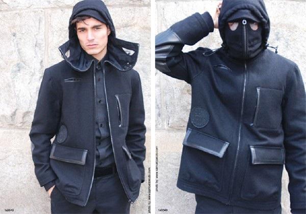 Куртка-костюм ниндзя из коллекции We Shall Overcome от Brianwood