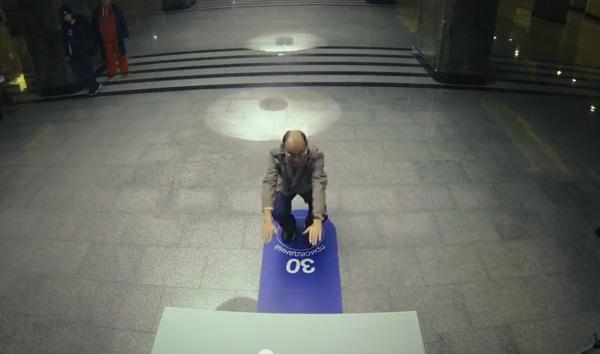 Приседания за билет в метро