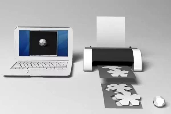 Dream Printer – необычный принтер, печатающий трафареты оригами