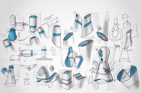 Скетчи дизайна Oyer