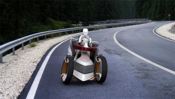 Три-виллер Pandur создан для наслаждения дорогой