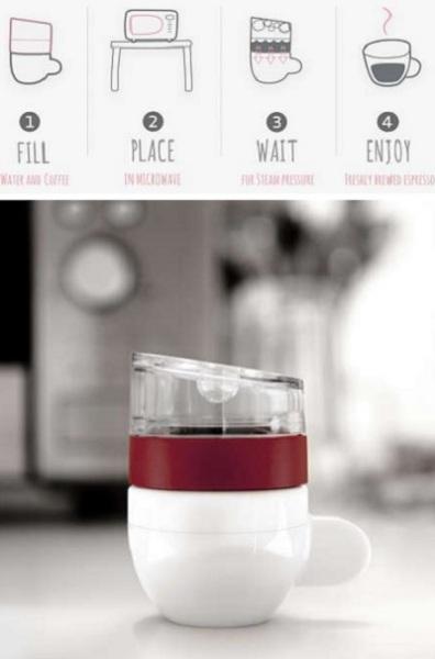 Piamo Espresso Maker – мини-кофеварка от Lunar Europe