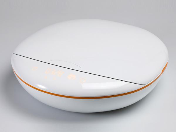 Концепт мобильной печи Plate Cooker
