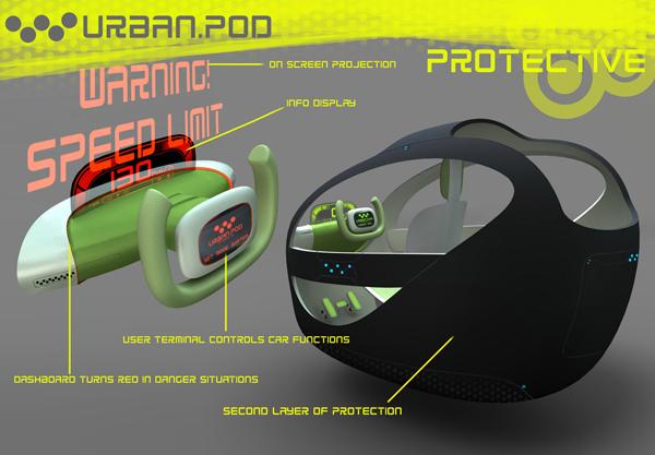 Head-up дисплей не позволит водителю нарушать правила дорожного движения