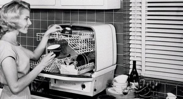 Первая посудомоечная машина