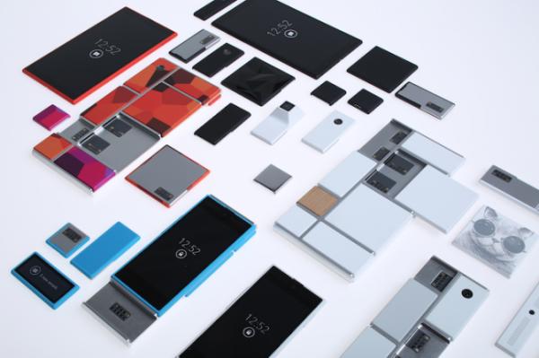 Motorola Ara состоит из сменных блоков