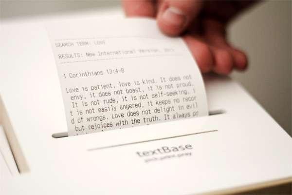 TextBase – необычный принтер в помощь верующим