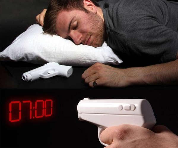 Secret Agent Alarm Clock – шпионский креативный будильник