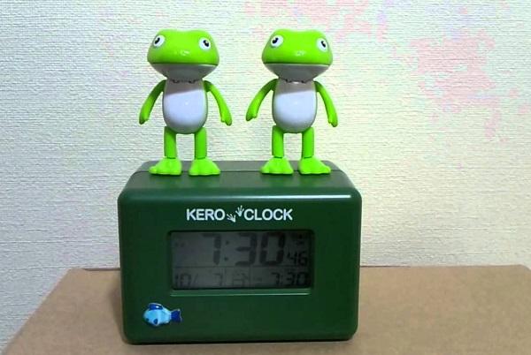 Singing kero clock – креативный будильник с танцующими лягушками