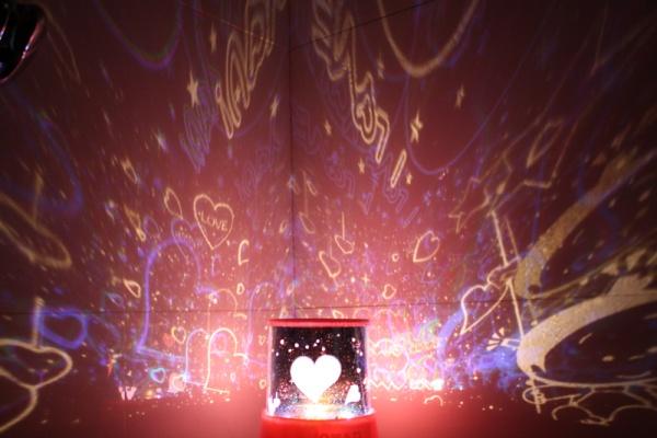 Starry sky projector – лампа, создающая иллюзию звездного неба, для влюбленных