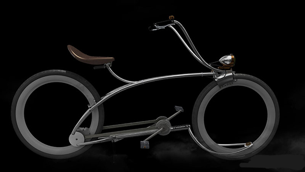 Ретро-футуристичный велосипед Steam-O