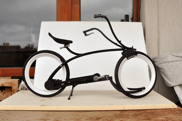 Модель велосипеда Steam-O
