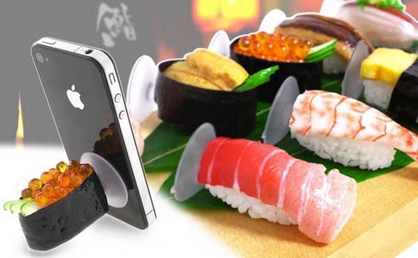 Держатель для смартфона в форме суши