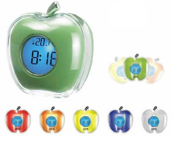 Talking apple clock – креативный будильник-говорящее яблоко