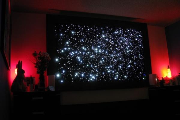 Glowing star map – дизайнерский светильник-карта звездного неба