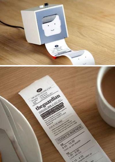 Little printer – необычный принтер для создания персональной газеты