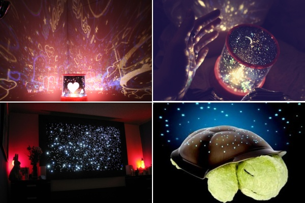 Дизайнерские лампы, создающие иллюзию звездного неба