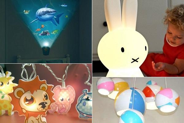 Креативные светильники для детских комнат