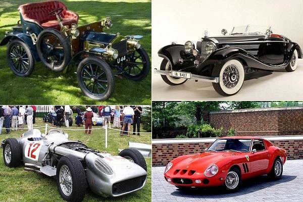 Самые дорогие автомобили всех времен
