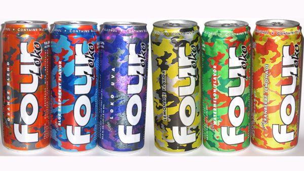 Энергетический напиток Four Loko