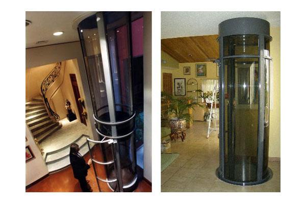 Вакуумный лифт - красиво и современно