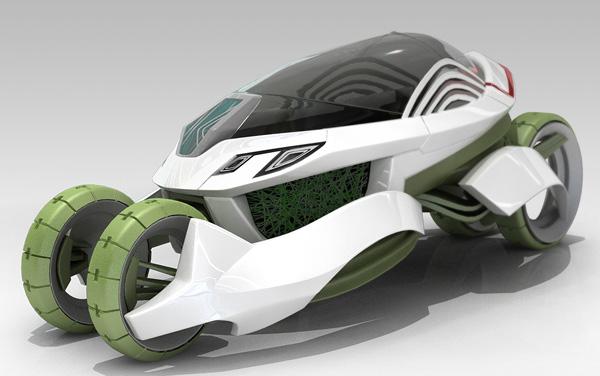 Концепт-кар Vieria, способный очищать окружающую среду