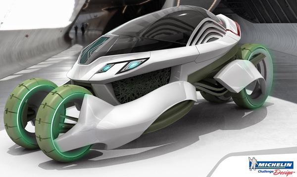 Концепт Vieria для Michelin Challenge Design Showcase