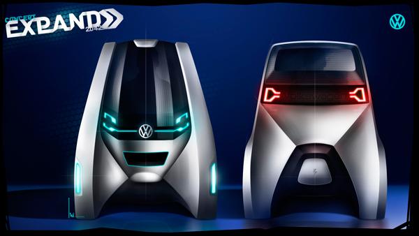 Концепт-кар Volkswagen Expand